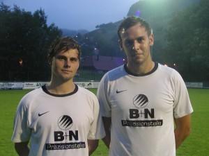Der zweifache Torschütze Jan Wernet und Nico Obert mit einem verwandelten Foulelfmeter steuerten drei Treffer zum Gruppensieg des SC Hofstetten beim Mode-Giesler-Cup in Welschensteinach bei.