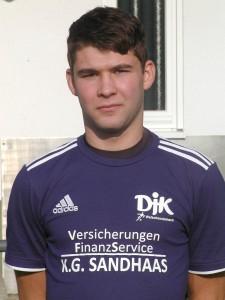 David Maier steuerte beide Treffer der DJK beim 2:2 gegen den FC Ohlsbach bei.