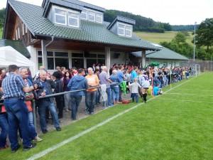 Die DJK Welschensteinach freute sich über viele Besucher beim Pfingstsportfest.