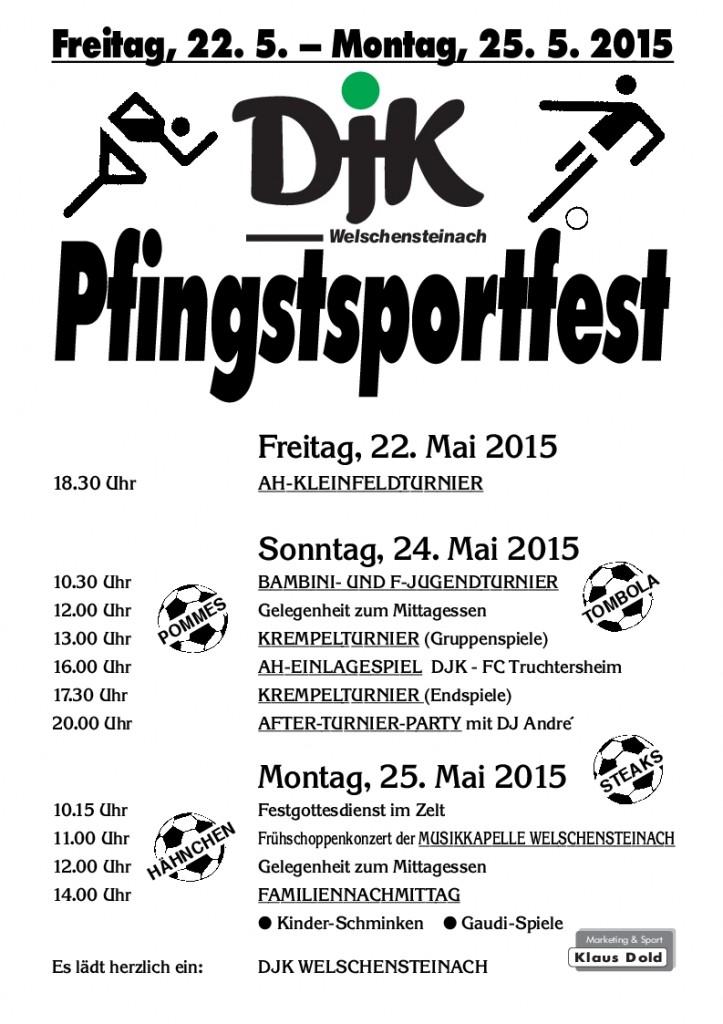 Plakat Pfingsten 15