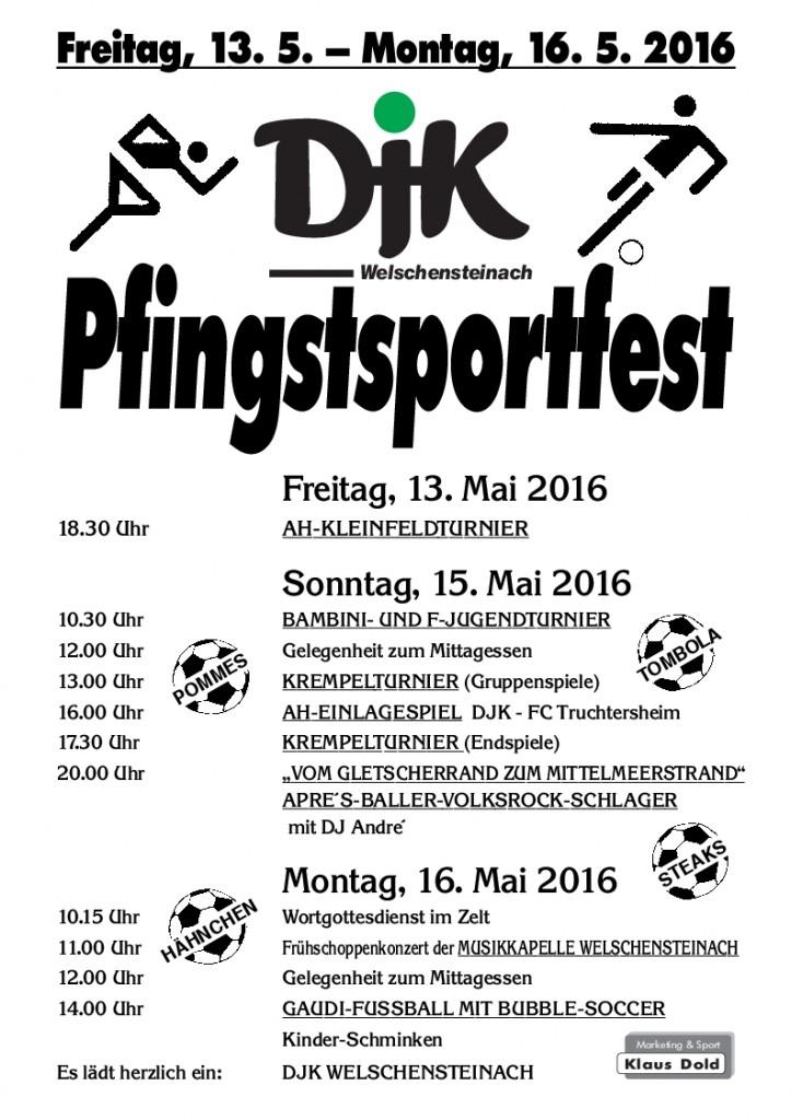 Plakat Pfingsten 16