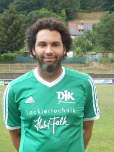 Spielertrainer und Torschütze Jonathan Kalt.