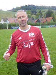Keeper Markus Luchner