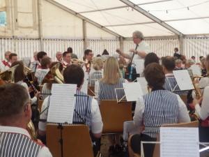 Die Musikkapelle Welschensteinach unter der Leitung von Adam Kalbfuß präsentierte ihr neues Sommer-Programm.