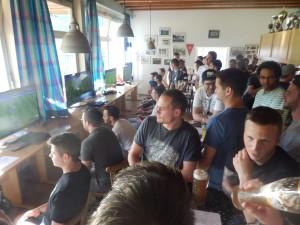 Beim vierten FIFA-Cup der DJK Welschensteinach waren alle Plätze im Clubheim belegt.