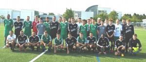 Im Rahmen des Trainingslagers beim FC Truchtersheim bestritt die DJK Welschensteinach (grüne Trikots) auch ein Testspiel gegen den Gastgeber.
