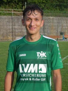 Miguel Kopf eröffnete den Torreigen mit dem 1:0 für die DJK.